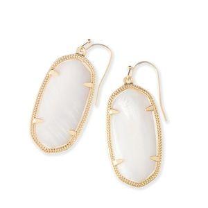 Kendra Scott Mother of Pearl Earrings